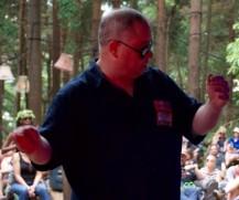 Neil conducting better shot