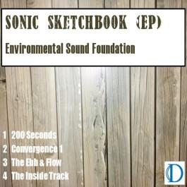 Sonic Sketchbook Cover Art Paint