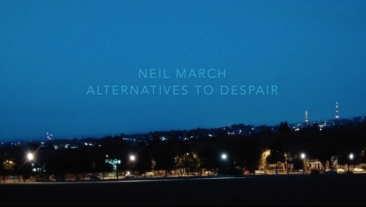 NEIL MARCH Alternatives To Despair (EP) Cover